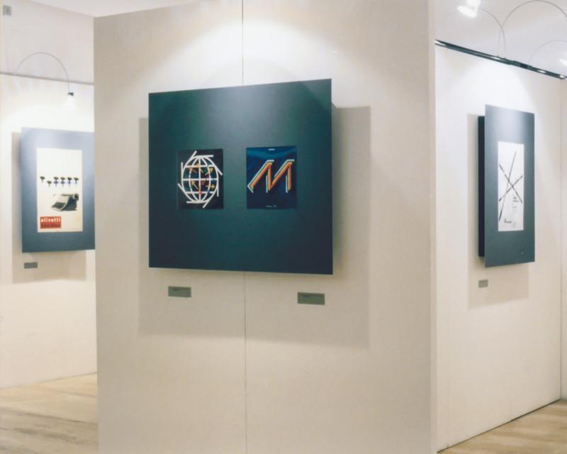 Progetto e realizzazione della mostra sulla grafica di Giovanni Pintori