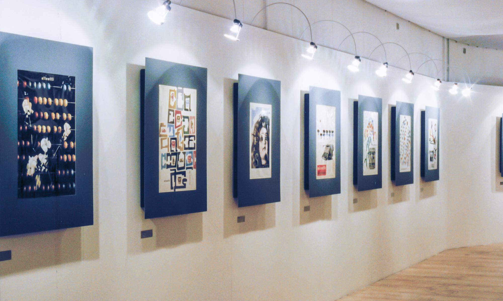 Cura e allestimento della Mostra su Giovanni Pintori grafico dell'Olivetti