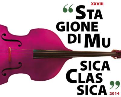 Studio grafico della locandina per la Stagione concertistica di musica classica