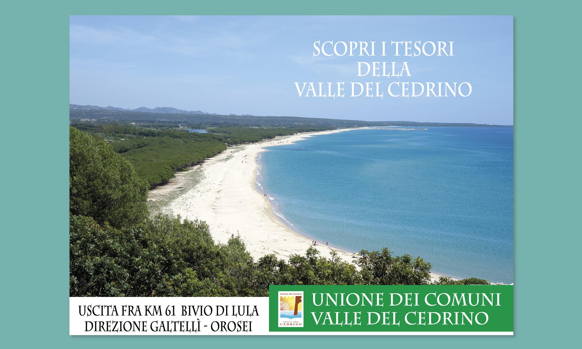 Grafica sistema cartelli promozione turistica