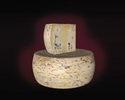 Modellazione 3D di formaggio erborinato
