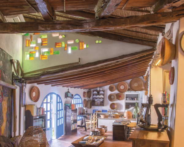 Fotografia d'interni dell'Hotel Su Gologone
