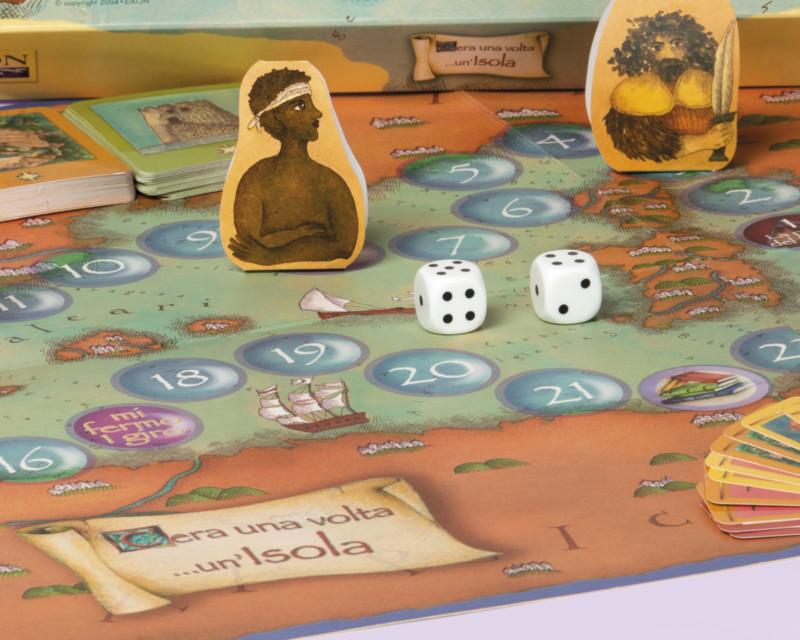 Ideazione e realizzazione del gioco didattico C'era una volta un'Isola