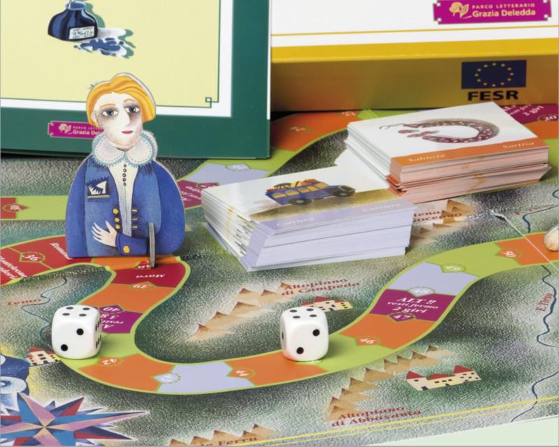 Progetto e realizzazione del gioco da tavolo Giocando con Grazia
