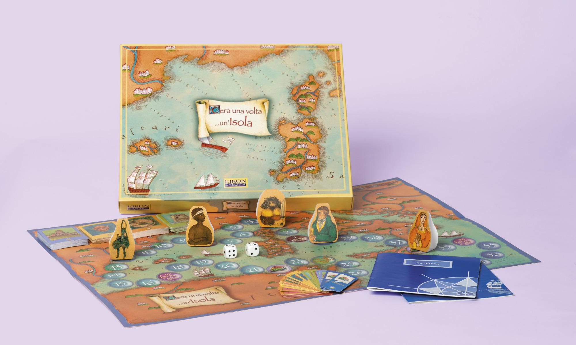 Progetto e realizzazione del gioco da tavolo C'era una volta un'Isola