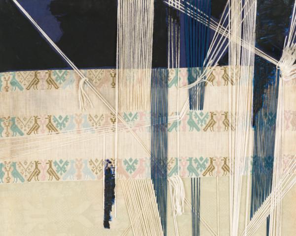 Particolare dell'opera di Maria Lai per la mostra Costante Resistenziale
