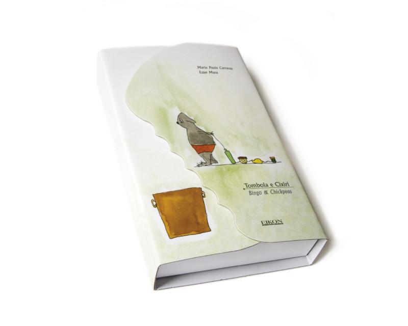 Studio grafico e del packaging per il ricettario Tombola e Cixiri