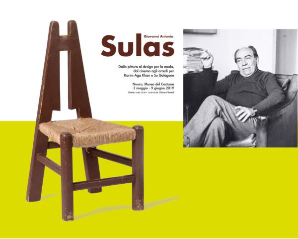 Studio dell'identità visiva della mostra su Giovanni Antonio Sulas